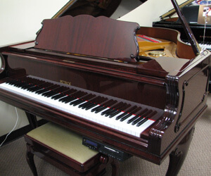Petrof Grand Piano in Cherry Mahogany