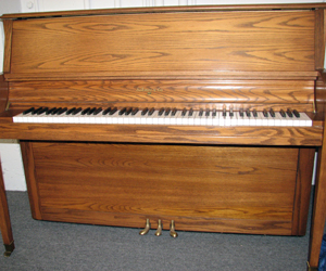 Sohmer Professional 45 studio upright piano.
