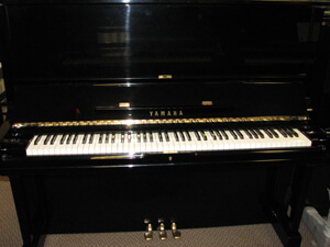 Yamaha U3 52in Professional Upright Piano