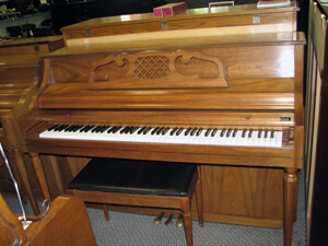 Charles Walter 43-3/4 in. Console piano