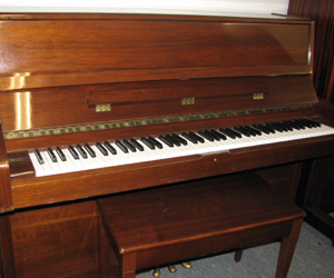 Wurlitzer 45 studio vertical grand.