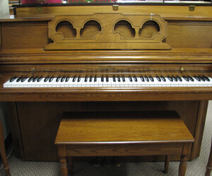 Wurlitzer 42in Console Piano