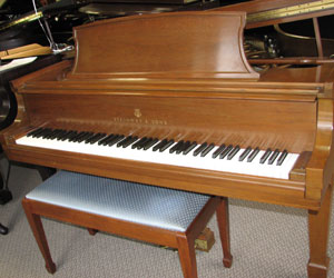 1967 Steinway Grand piano 5ft. 11in. Model L.