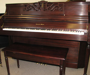 Charles R. Walter Pro upright